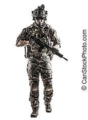 erdőőr, fegyver, hozzánk hadsereg
