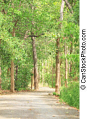 erdő, életlen
