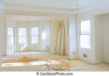 erdő, szoba, ikergyermek, elhallgattat, új, belső, saját szerkesztés, befejezetlen, closets.