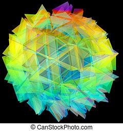 erdball, gitter, vernetzung, abbildung, 3d