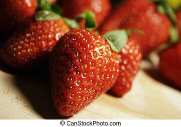 erdbeeren, fruechte