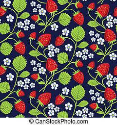 erdbeeren, hintergrund