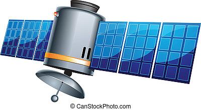 erde, satellit