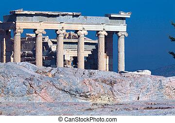 Erechteion, Acropolis, Athens, Greece