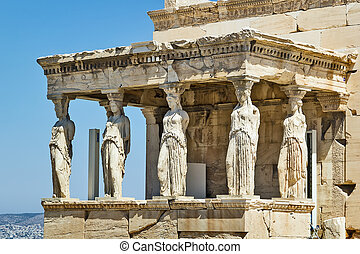 Erechtheion, Athens - The Erechtheion is an ancient Greek...