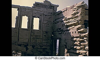 Erechtheion temple Greece - close up of Erechtheion or...