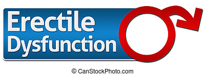 Erectile Dysfunction With Symbol