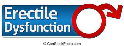 Erectile Dysfunction With Symbol