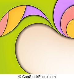 eredet, colors.jpg, elvont, háttér., nyár