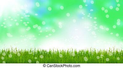 eredet, kaszáló, húsvét, kaszáló, bokeh