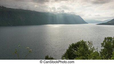 Eresfjorden Time Lapse, Norway