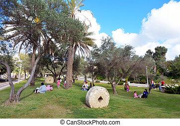 Eretz Israel Museum in Tel Aviv - Israel