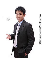 erfolgreich, baseball, kaufleuten zürich