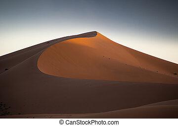 erg chigaga sand dunes - the erg chigaga sand dunes in...