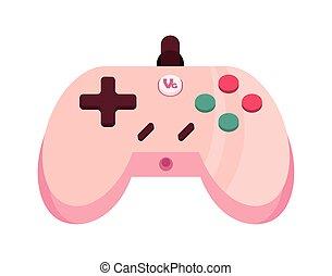 ergonomic video game control isolated icon