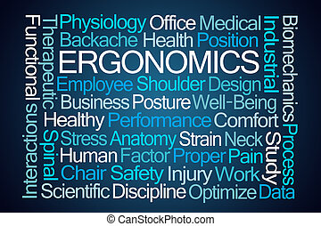 Ergonomics Word Cloud