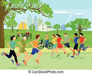 Erhohlung und Sport