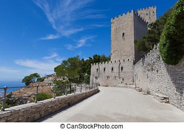 Erice-Trapani-Sicilia - Erice-Trapani, tourist spot, typical...