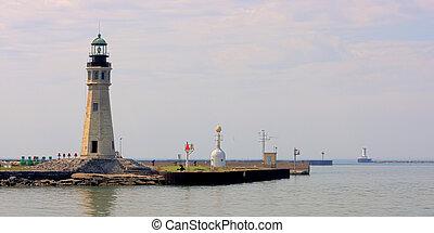 Erie Basin Marina Lighthouse