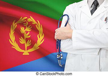 eritrea, concept, national, -, système, healthcare