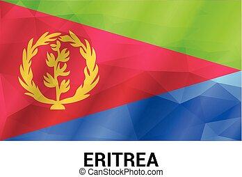 Eritrea flags design vector