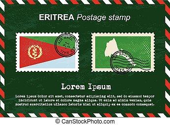 Eritrea postage stamp