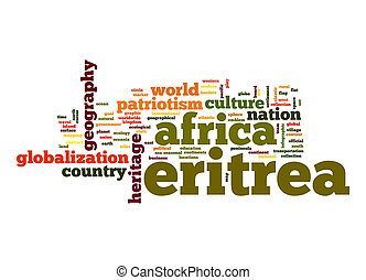 Eritrea word cloud