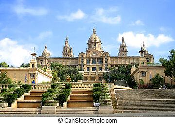 erkély, barcelona