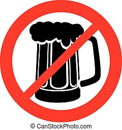 erlaubt, alkohol, zeichen