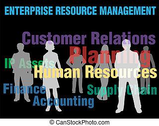 ERM Enterprise Resource Management planning financial supply chain people