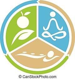 ernæring, yoga, sundhed, massage