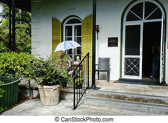 Ernest Hemmingway - Florida, Key, West, beach, ocean , ...