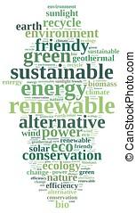 erneuerbar, energy.
