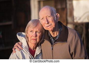 ernst, ältere paare