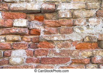 Eroded Brick Wall Texture
