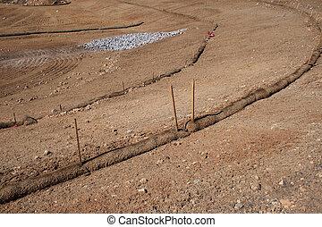 erosion control barriers - straw wattle erosion control...