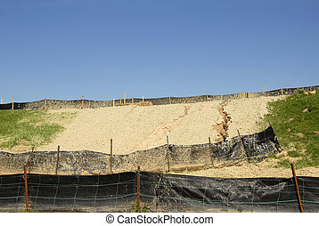 Erosion Control on a Construction Site