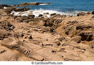 erosion sandstone - It is beautiful sandstone erosion...