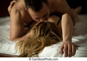 Erotic couple making love - Erotic married couple making...