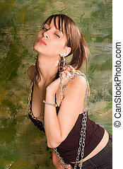 Erotic girl