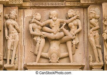 Erotic Hindu Carvings
