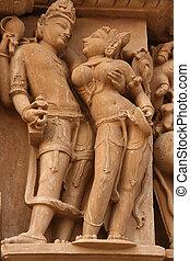 Erotic temples in Khajura
