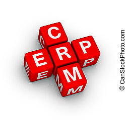 erp, and, crm, символ