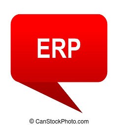 erp bubble red icon