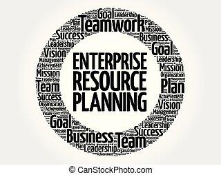 ERP - Enterprise Resource Planning circle