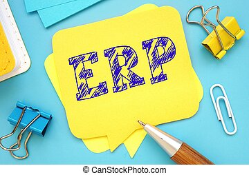 ERP phrase on the page.