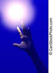 erreichen, licht