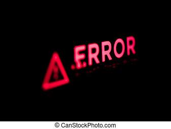 error., コンピュータ