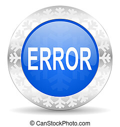 error christmas icon