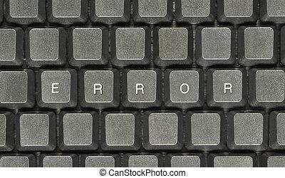 Error concept